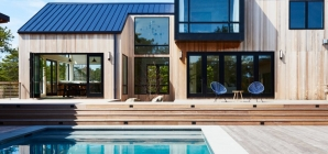 $4.4M 'Eco-Luxurious' Beach House in Amagansett Sits Next to a 216-Acre Nature Reserve