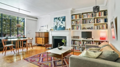 Pretty pre-war co-op in Fort Greene has two bedrooms and stylish details for under $1M