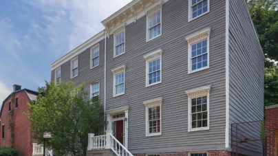 Own a pair of 1840s clapboard houses in Clinton Hill for $4.4M