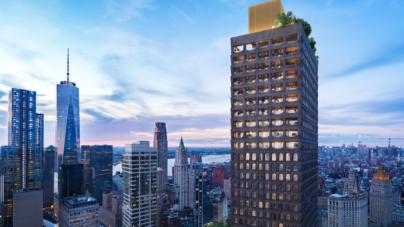 Sales launch at David Adjaye's first NYC skyscraper in FiDi, from $780K