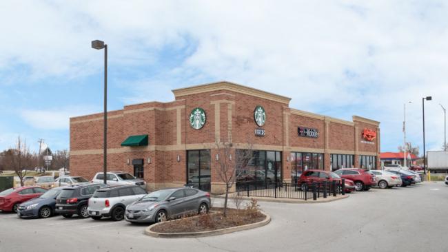 Newmontis Lists Starbucks Anchored Shopping Center Near Chicago